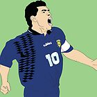Maradona World Cup '94 by James McDaid