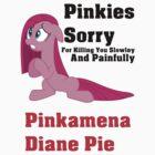 Pinkamena Dane Pie T-Shirt by Megavip