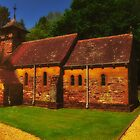Church In The Woods St Aldhem`s Lytchett Minster by delros