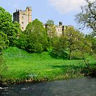 Haddon Hall, Derbyshire by Mark Baldwyn