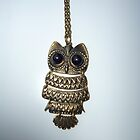Owl necklace by Anouk Westerdijk