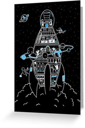Interstellar Travels by Sarah Crosby