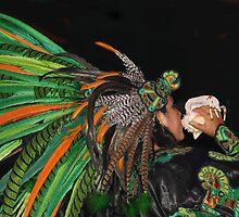 Aztec Spiritual Call by heatherfriedman