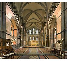 The Sanctuary, Rochester Cathedral, Kent, England Photographic Print