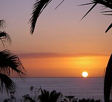 Sunset in Los Gigantes by Thomas Tolkien