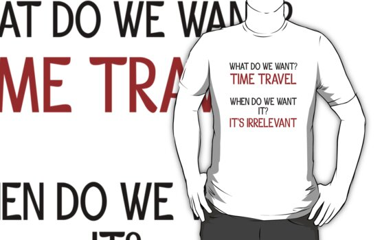 Time Travel Protest by JReading