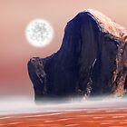 Moon Over Red Sea by Piero