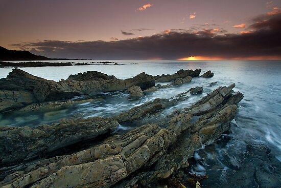 """Shale Shelves"" ∞ Rocky Cape N.P, Tasmania - Australia by Jason Asher"