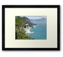 Gemstone Bay Framed Print