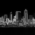 Seattle Waterfront at Night by ZWC Photography