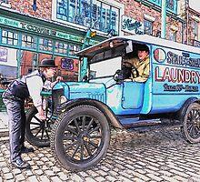Vintage van by MrMild
