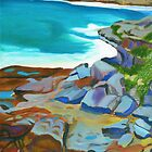 Bronte Rocks by Lynette Leftwich