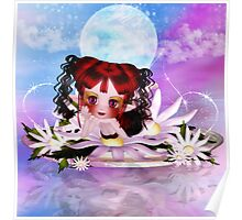 Daisy The Cute Little Water Fairy Poster