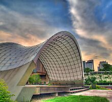 Raspberry Island Band Shell by Jimmy Ostgard