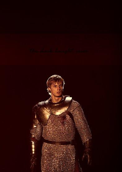 Arthur The Dark Knight by fridaywarning