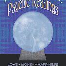 Psychic Readings Poster by Mystikka
