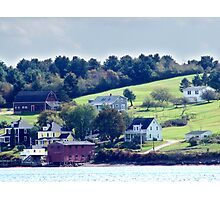 Western Shore, Mahone Bay Photographic Print
