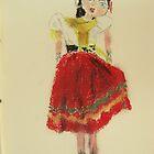 gypsy pelham puppet by Alfred Gillespie