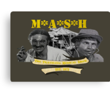M*A*S*H: The Traveling Medical Show Canvas Print