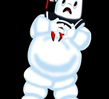 Scared Mr. Stay Puft. by joshjen10