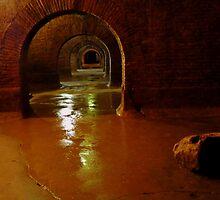 In a Roman cistern by bubblehex08