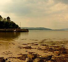 Inch Pier In The Evening Light by Fara