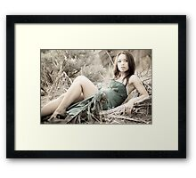 seclusion Framed Print