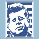 JFK COLOURS 35TH BLUE by OTIS PORRITT