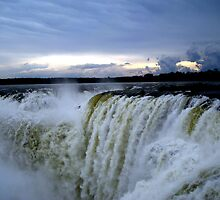 Iguazu Sunset by dher5