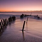 SS Dicky Ship Wreck by Ian  Clark