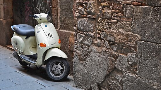 The Piaggio by Doug Miller