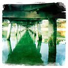 Under the jetty by Jenny Clift