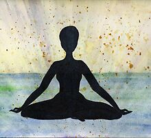 Meditation Pose by Deb Coats