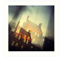 Dublin - window view  Art Print