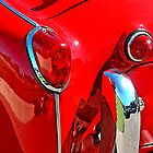 TRIUMPH TR3 RED 3 by Rich Norris