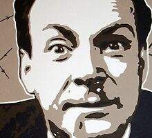 Richard P Feynman by Dan Carman
