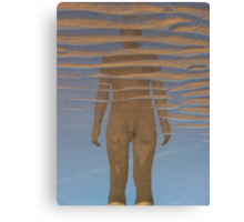 Reflection, Crosby Beach Canvas Print