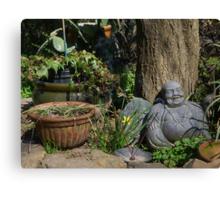 Chilling Buddha Canvas Print