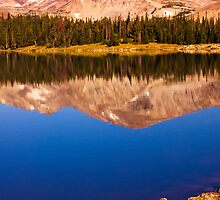 Mountain Lake Reflections by John  De Bord Photography