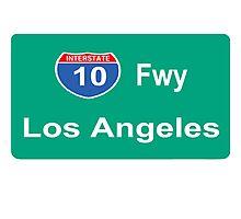 INTERSTATE 10: LOS ANGELES Photographic Print