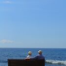 Couple looking at the Sea by KUJO-Photo