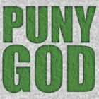 PUNY GOD by David Naughton-Shires