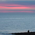 Fisherman in Sunset by KUJO-Photo