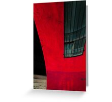 Red building Greeting Card