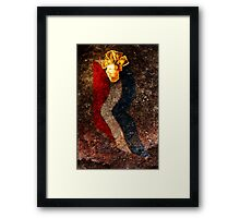 Believe in America. Sign of the times. Framed Print