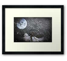 Nobody Left In This World To Kiss Goodnight Framed Print