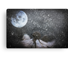 Nobody Left In This World To Kiss Goodnight Canvas Print