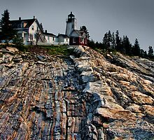 Pretty Pemaquid by Carolyn  Fletcher