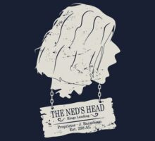 The Ned's Head (White) by Malc Foy