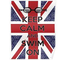 Swim London Poster